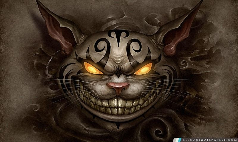 Alice Madness Returns Cheshire Cat Chat De Cheshire Alice Au Pays Des Merveilles Animaux Steampunk