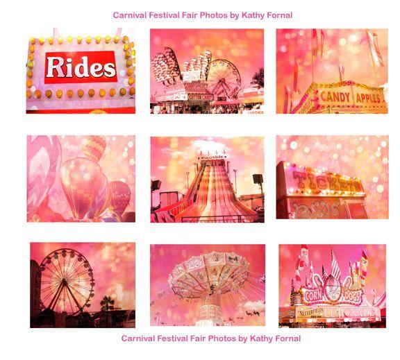 Carnival Festival Photos Ferris Wheel Art Balloons by KathyFornal, $95.00