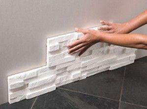 r alisez vous m me un escalier pav briquette de parement briquettes et parement. Black Bedroom Furniture Sets. Home Design Ideas
