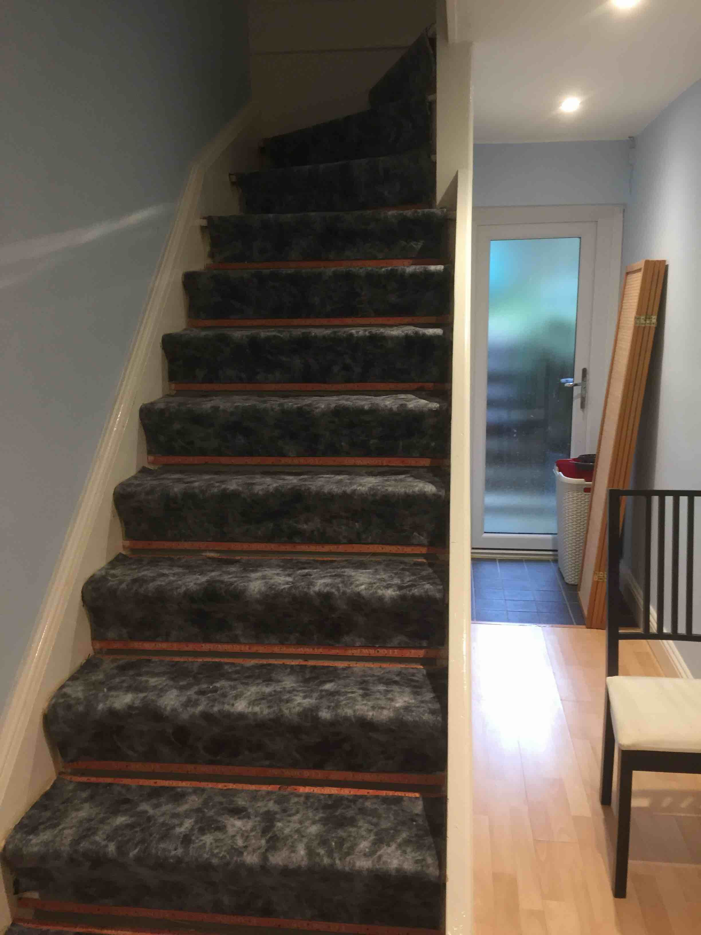 Pin By Cavendish Devere On A Grey Stair Carpets In A Home In London With Images Carpet Fitters Grey Stair Carpet Carpet Stairs