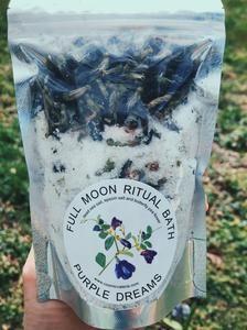 Full Moon Ritual Bath - Purple Dreams