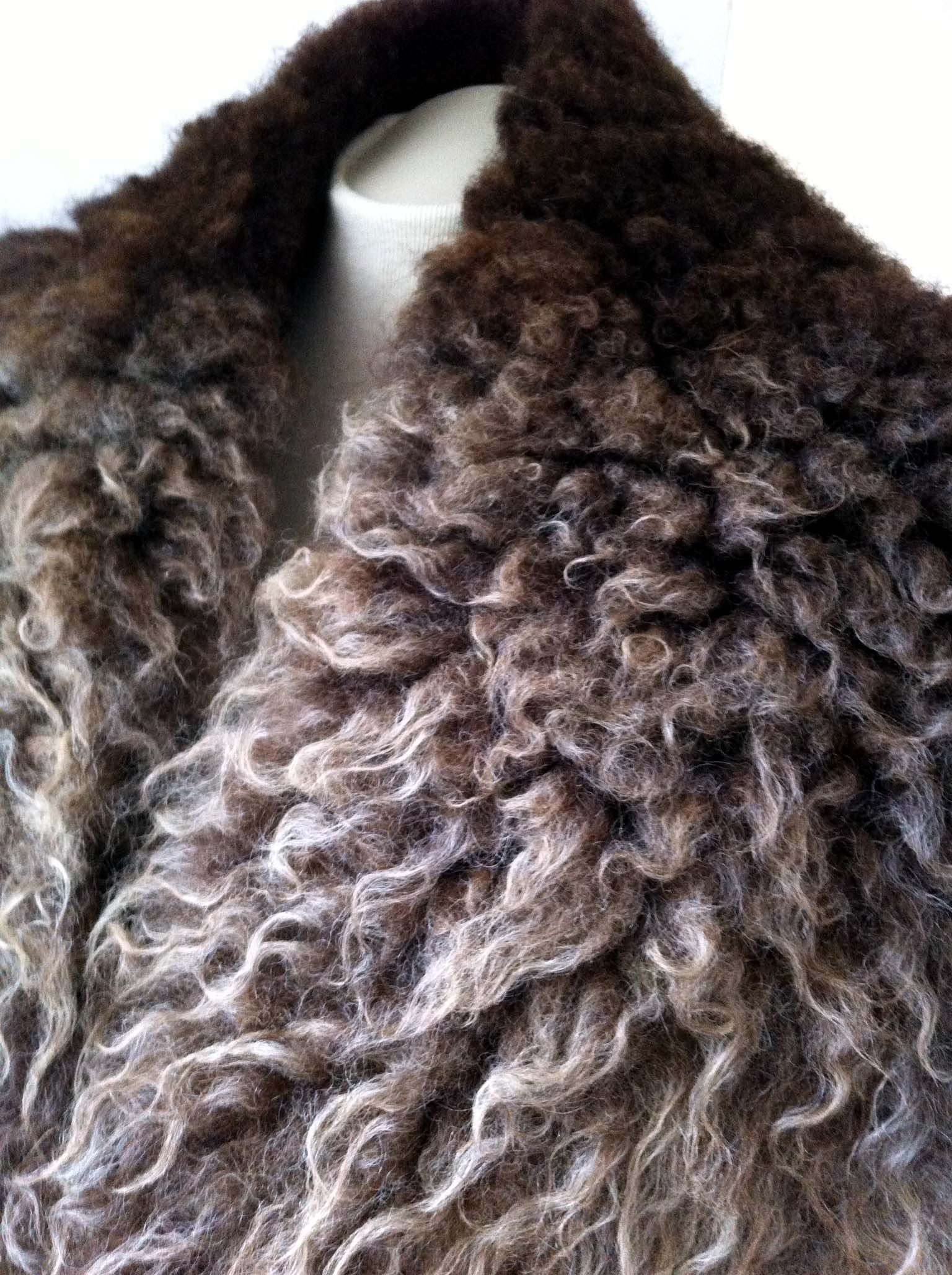 Shetland felted fleece wrap ombre felted fleece pinterest