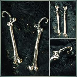 Silver Plated Femur Weights by All Beauty Sleeps