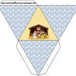 Caixa Pirâmide Nascimento de Jesus: LARGE SET