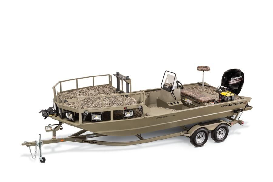 Flounder fishing boats
