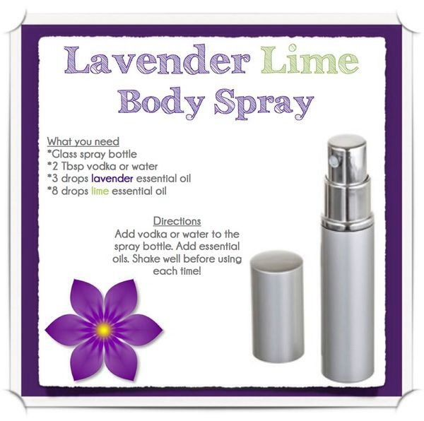 💜💚Diy Lavender Lime Body Spray💚💜 | Body | Essential oils