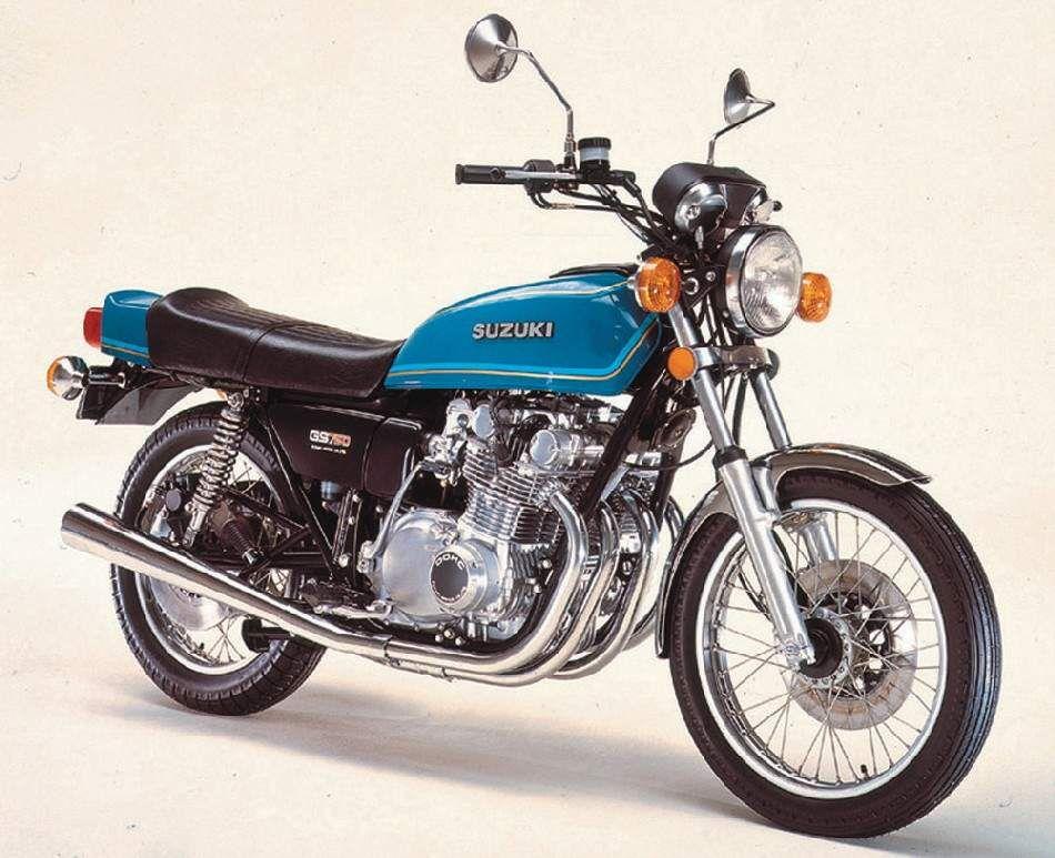 Suzuki Gs750 1976 77 With Images Suzuki Japanese Motorcycle