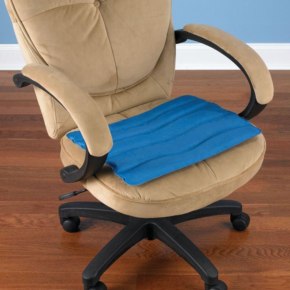 The Cooling Gel Seat Cushion Hammacher Schlemmer Office Chair Cushion Desk Chair Cushion Chair