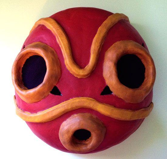 Princess Mononoke Mask Sans Mask Mask Tutorial Princess Mononoke