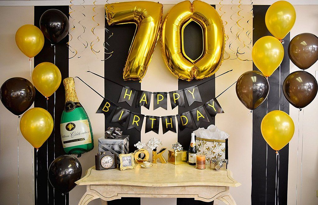 70th Birthday Party Pack In 2019