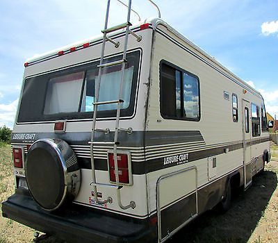 1989 class a 28 foot rv chevy v8 454 engine liesure craft by travel rh pinterest com 1989 Chevrolet Motorhome 1989 Ford RV