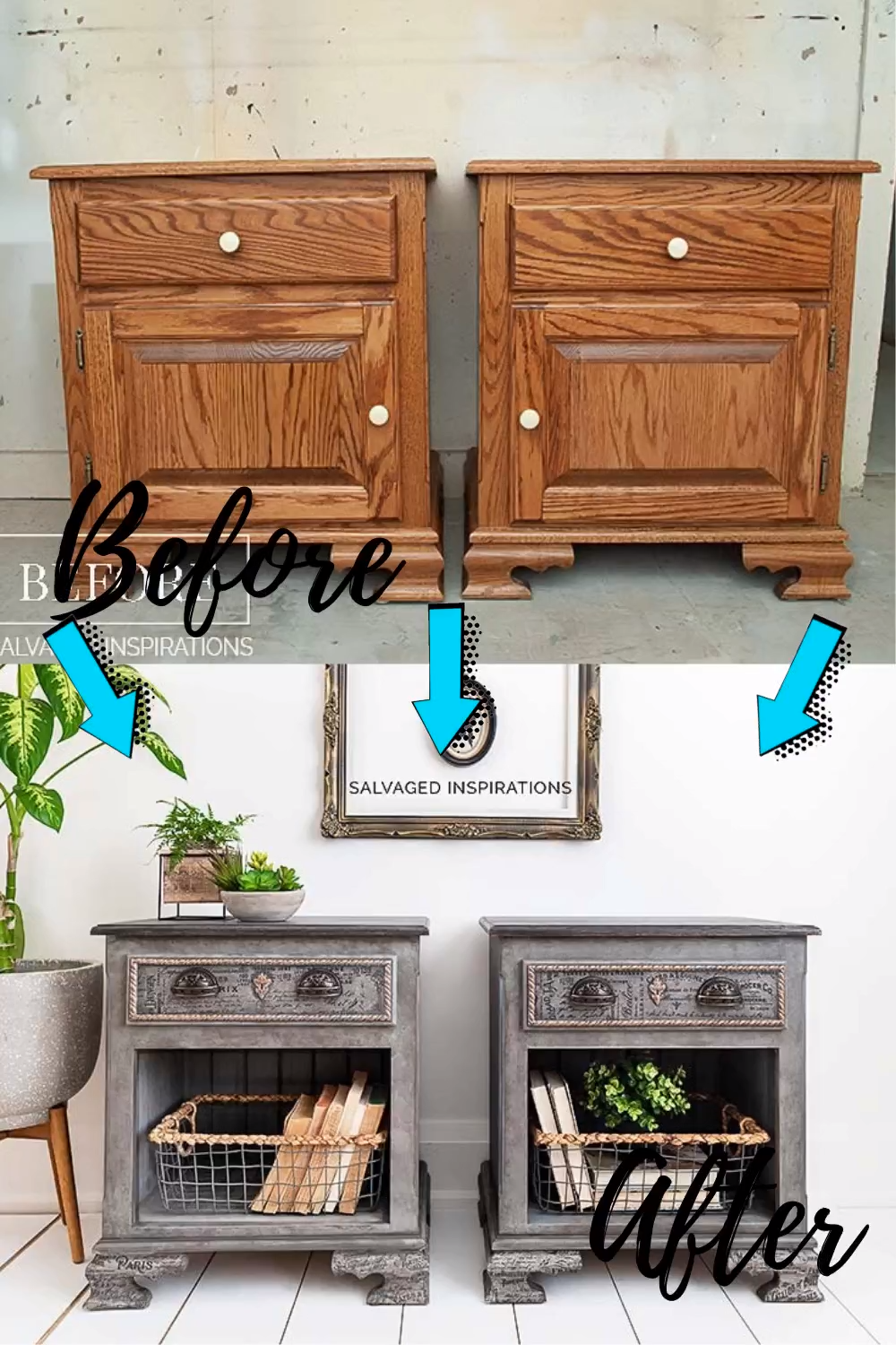 Photo of Before & After Furniture Makeovers | Salvaged Inspirations