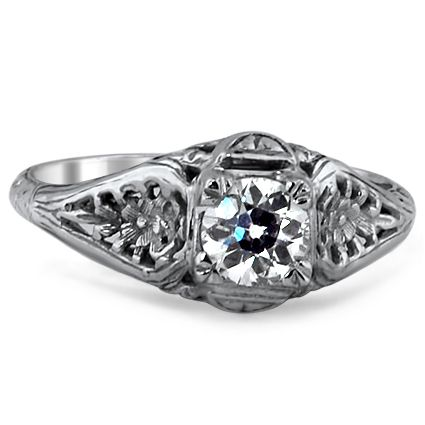 The Nasturtium Ring #BrilliantEarth