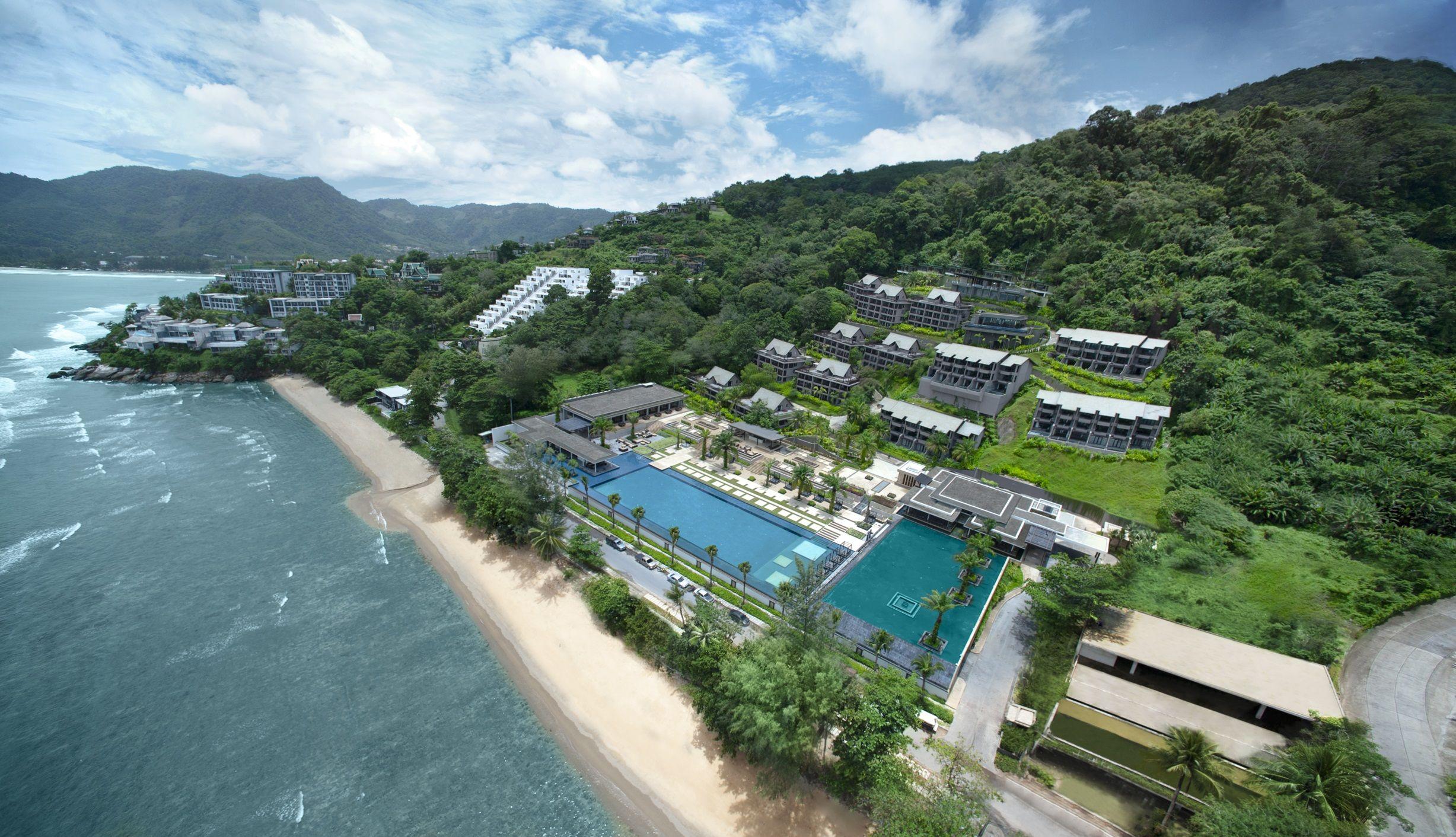 Aerial Shot - Hyatt Regency Phuket - daylight | Hyatt Regency Phuket ...