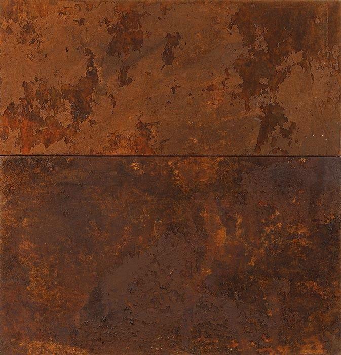 "socialclaustrophobia: ""José Bechara (Brazilian, b. 1957), Sem título [untitled], 1997/98. Pigments and oxidation on truck tarpaulin, 115 × 110 cm. via """