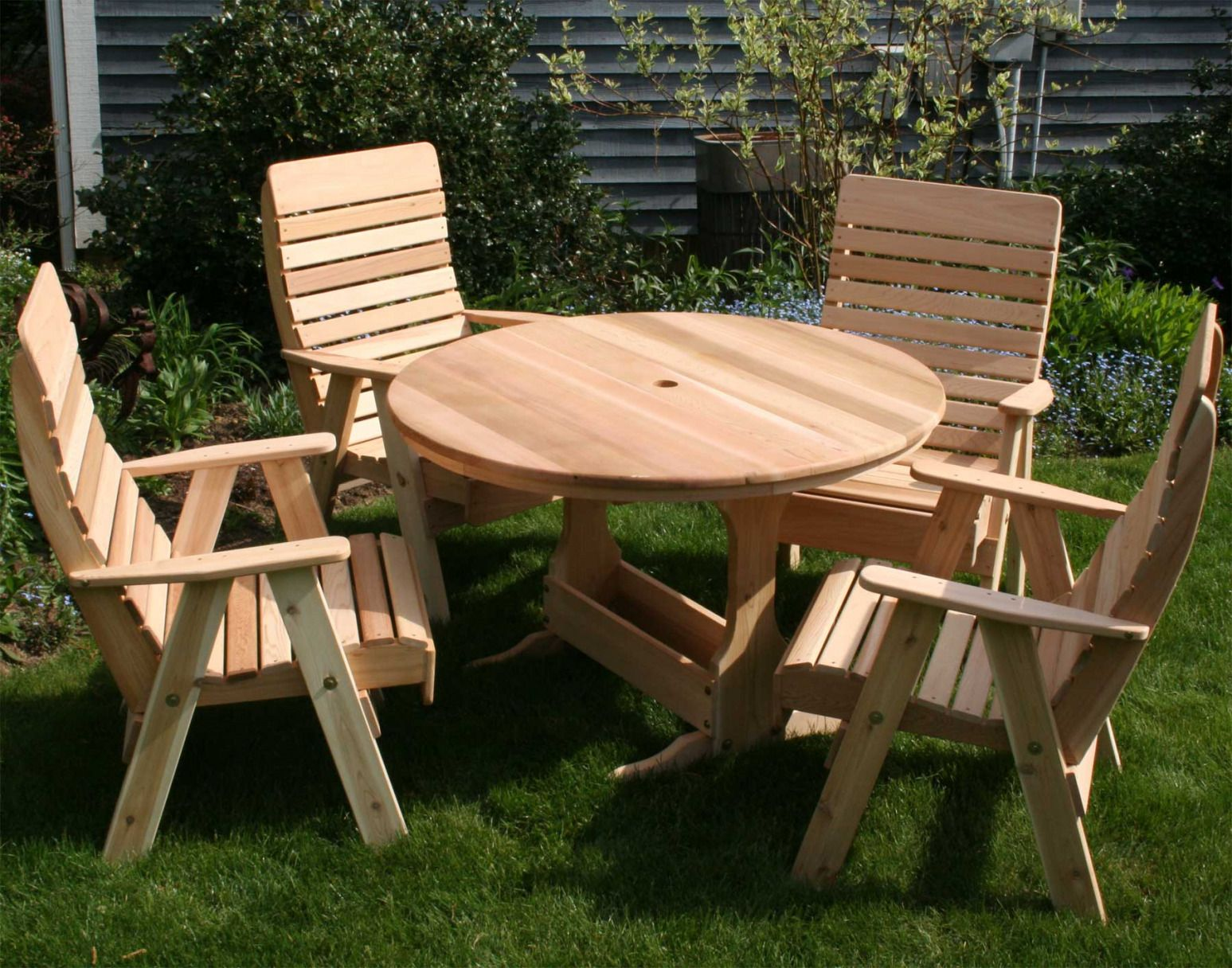 100 Round Picnic Table With Umbrella Hole Best Master Furniture Check More At Http
