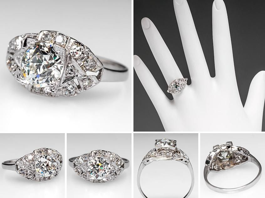 Vintage Engagement Rings | Antique Diamond Rings