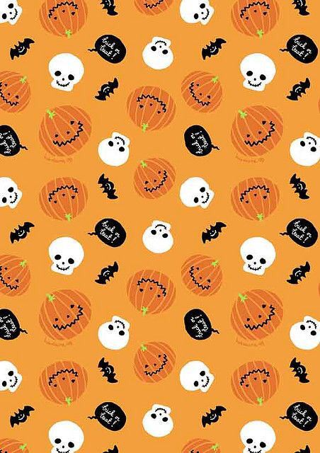 Ghosts Bats And Pumpkin Iphone Background Halloween Wallpaper Halloween Paper Halloween Backgrounds