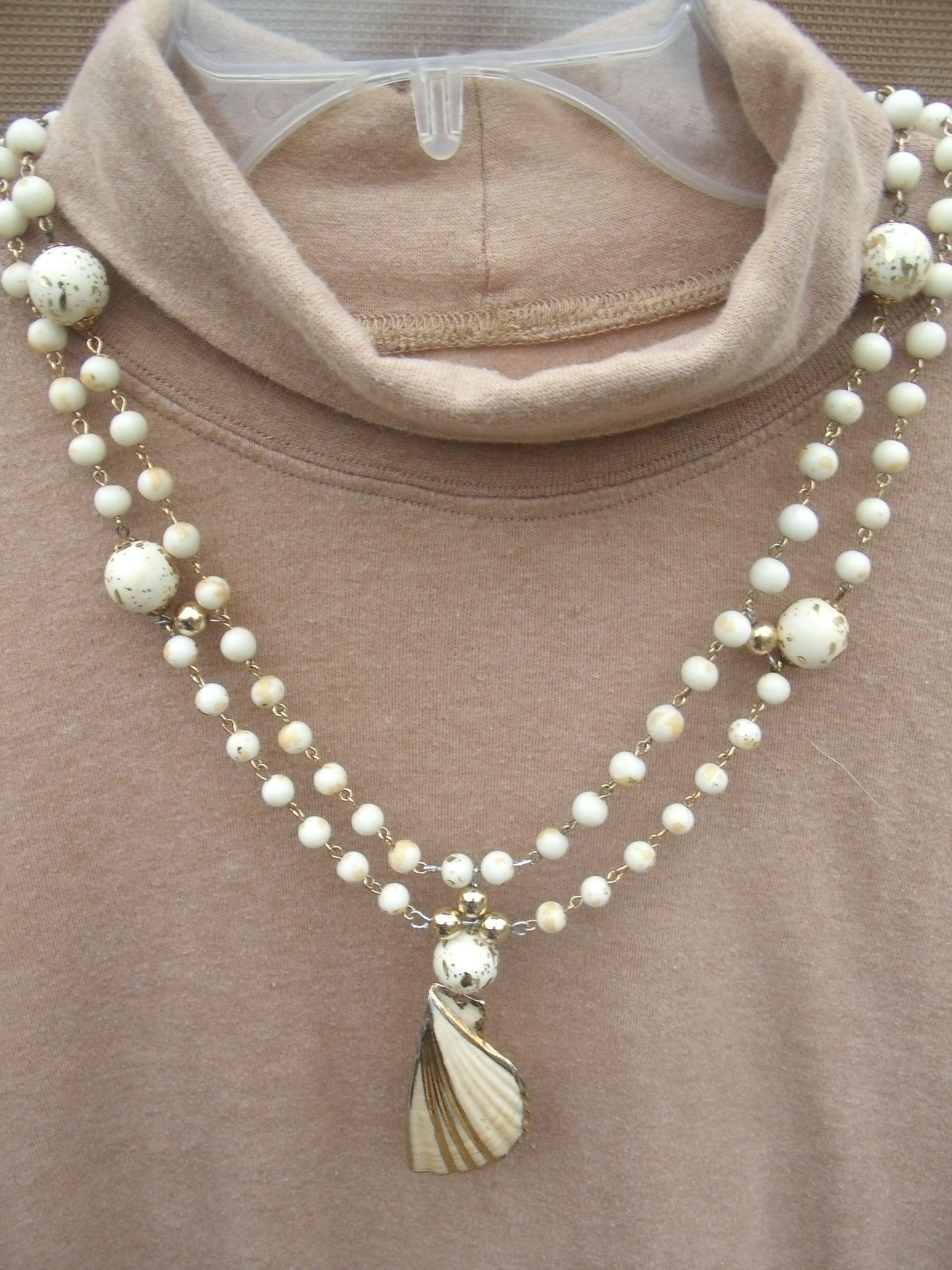 Double strand necklace $16.95  www.etsy.com/shop/meandjpsjewelry