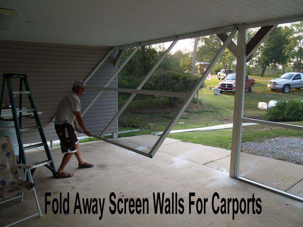 Fold Away Screen Walls For Carports Or Patio 39 S Yelp