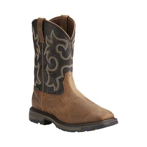 db14ad890ec Ariat Workhog Wide Square Toe H2O 400G Boot | Products | Boots ...