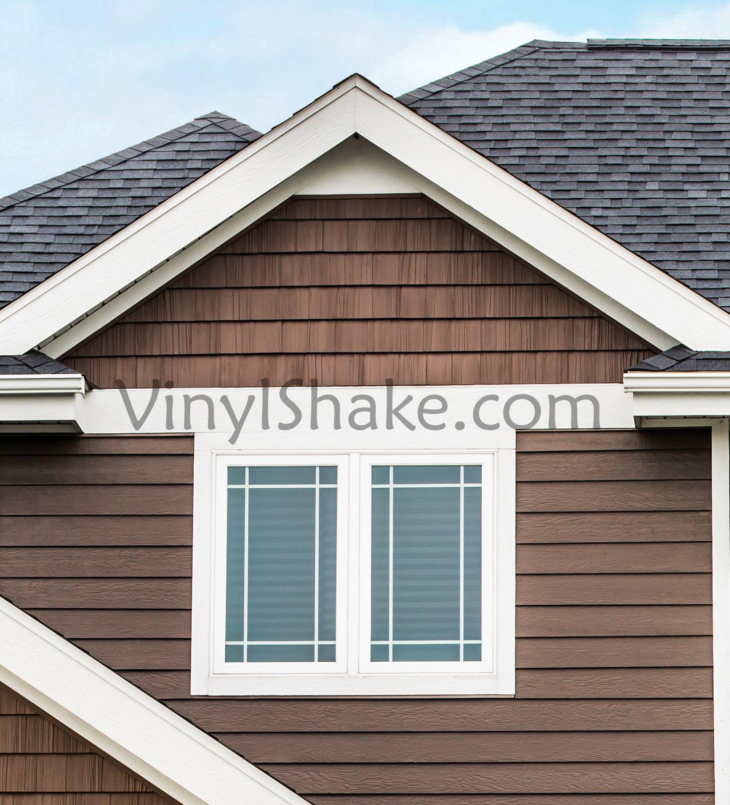 Foundry 7 Inch Split Shake In 2020 Vinyl Cedar Shake Siding Dark Siding House Vinyl Siding House