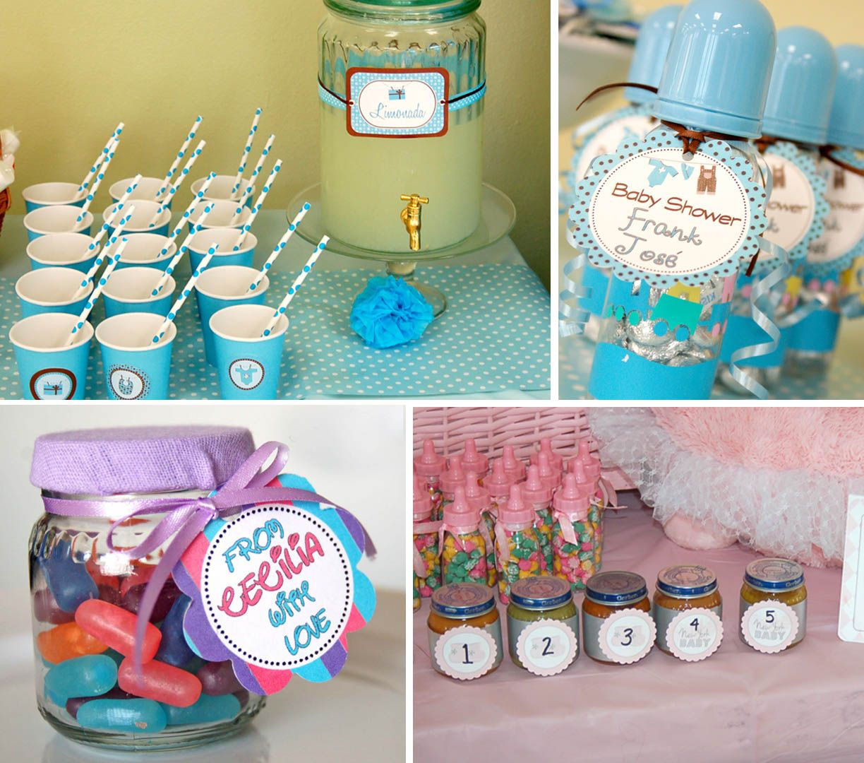 Baby shower ideas ideas for decorations baby showers for Baby shower food decoration ideas