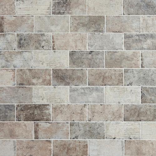 New York Soho Brick Look Porcelain Tile In 2020 Brick Look Tile Brick Tile Floor Brick Tile Backsplash