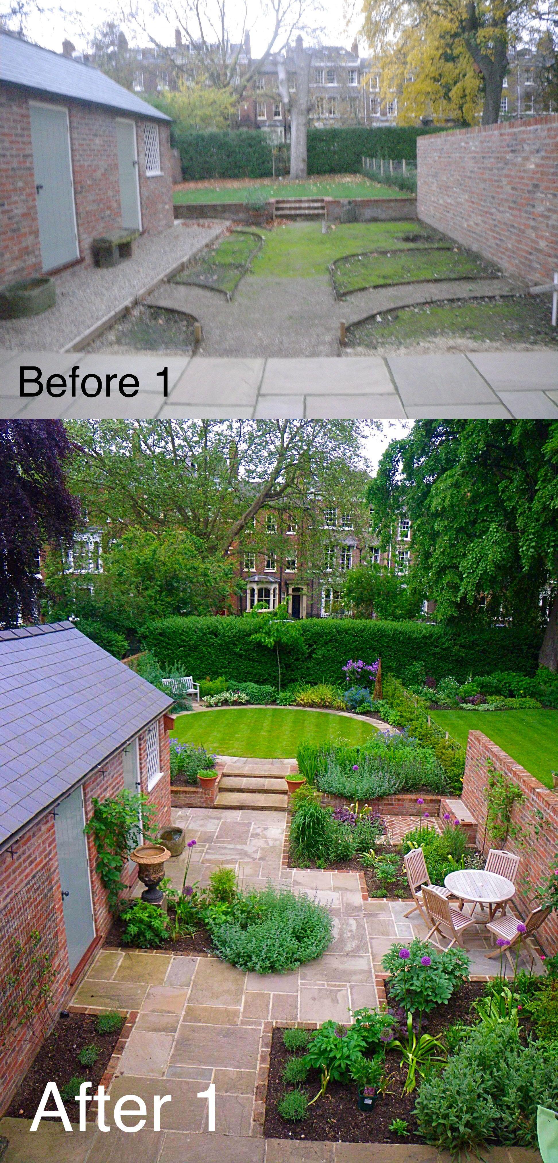 Pin by Geraldine Burke on Before & After Yorkshire Garden Designer ...