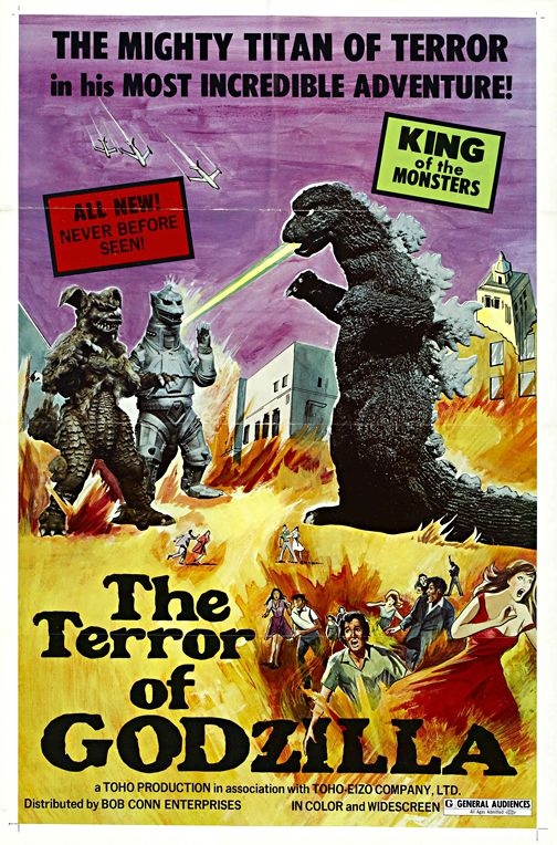 Terror Of The Godzilla Vintage Horror Movie Poster Framed Wall Art Museum Outlets Classic Horror Movies Posters Godzilla Horror Movie Posters