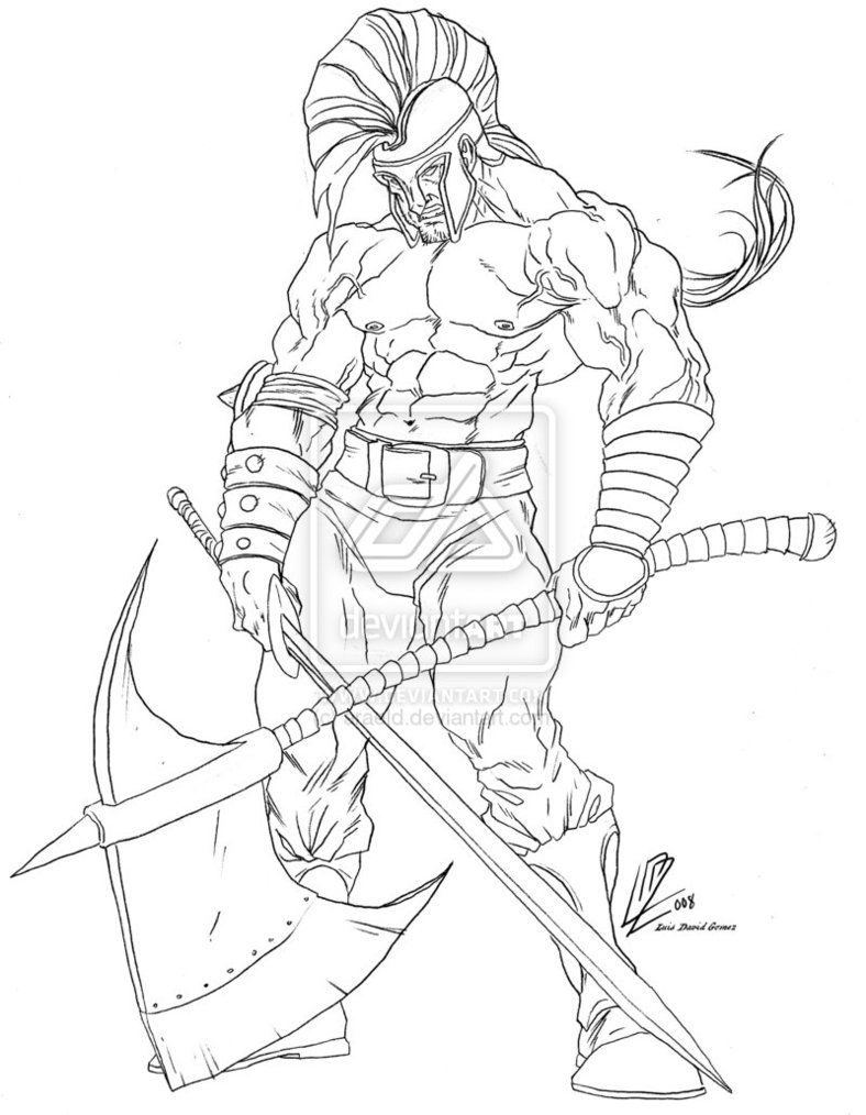 Ares Version By Araeld On Deviantart Easy Drawings Sketches God Of War Ares