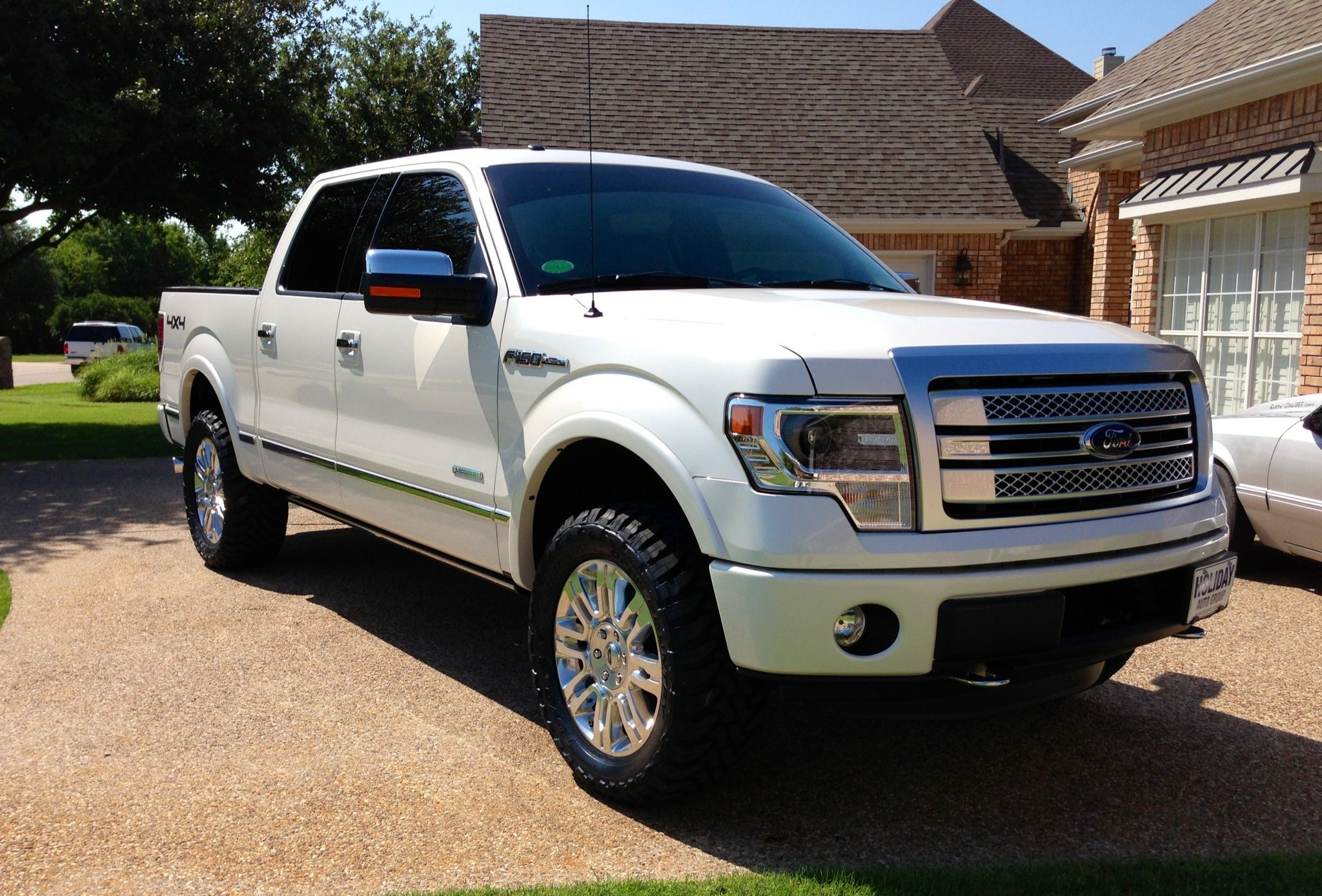 2013 F150 Platinum >> Lifted Ecoboost F150 2013 Triple White Platinum Ecoboost