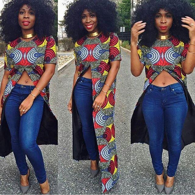 ANKARA SHORT DRESSES STYLE - Loud In Naija