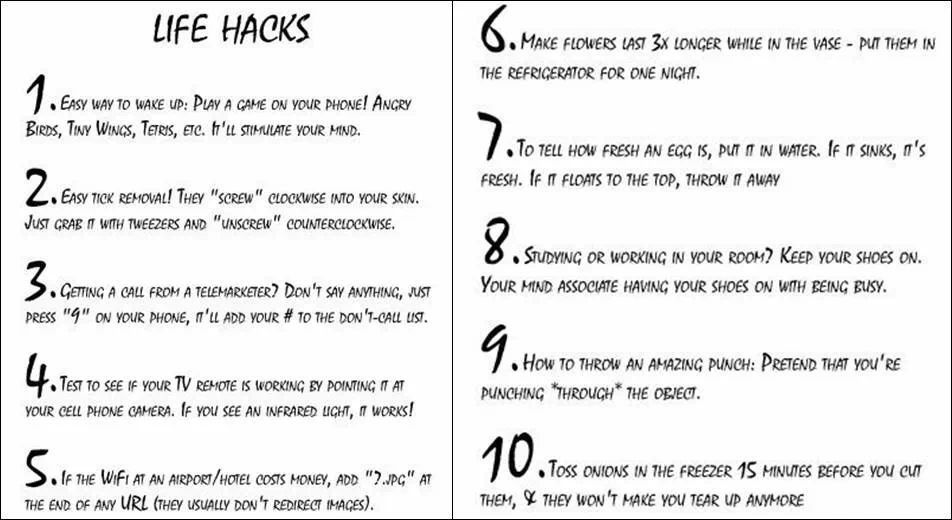 life hacks on pinterest - photo #6