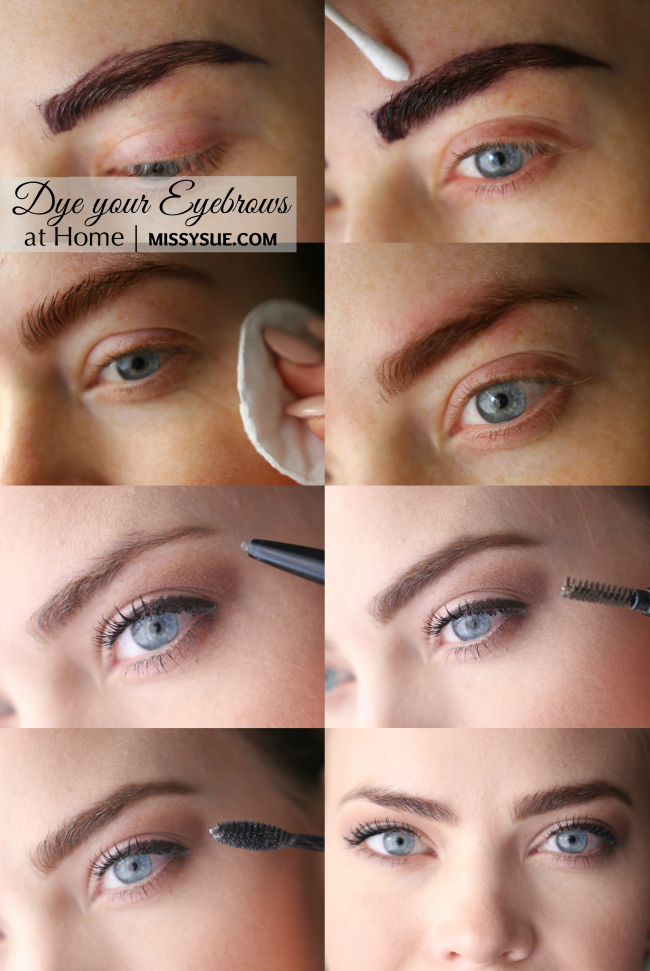 One Beauty Practice That I Commit To Throughout The Summer Is Dyeing My Eyebrows Each Month It Only Takes A Few Minutes A Dye Eyebrows Eyebrows Dying Eyebrows