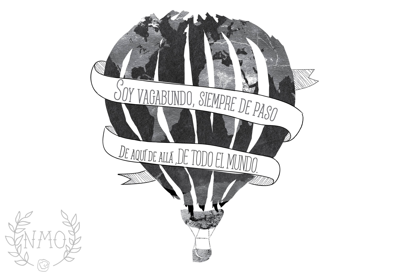 De todo el mundo, Enrique Bunbury. Illustration with lyric from ...