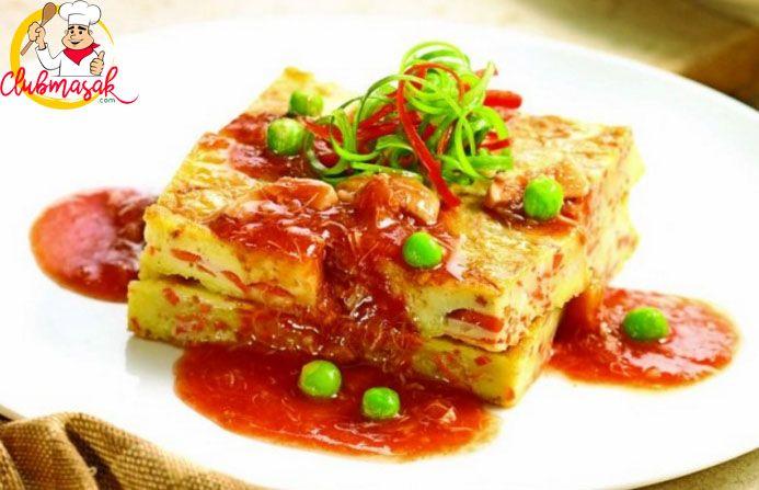 Resep Hidangan Omelet Kepiting Masakan Sehat Untuk Diet Club Masak Diet Resep Makanan