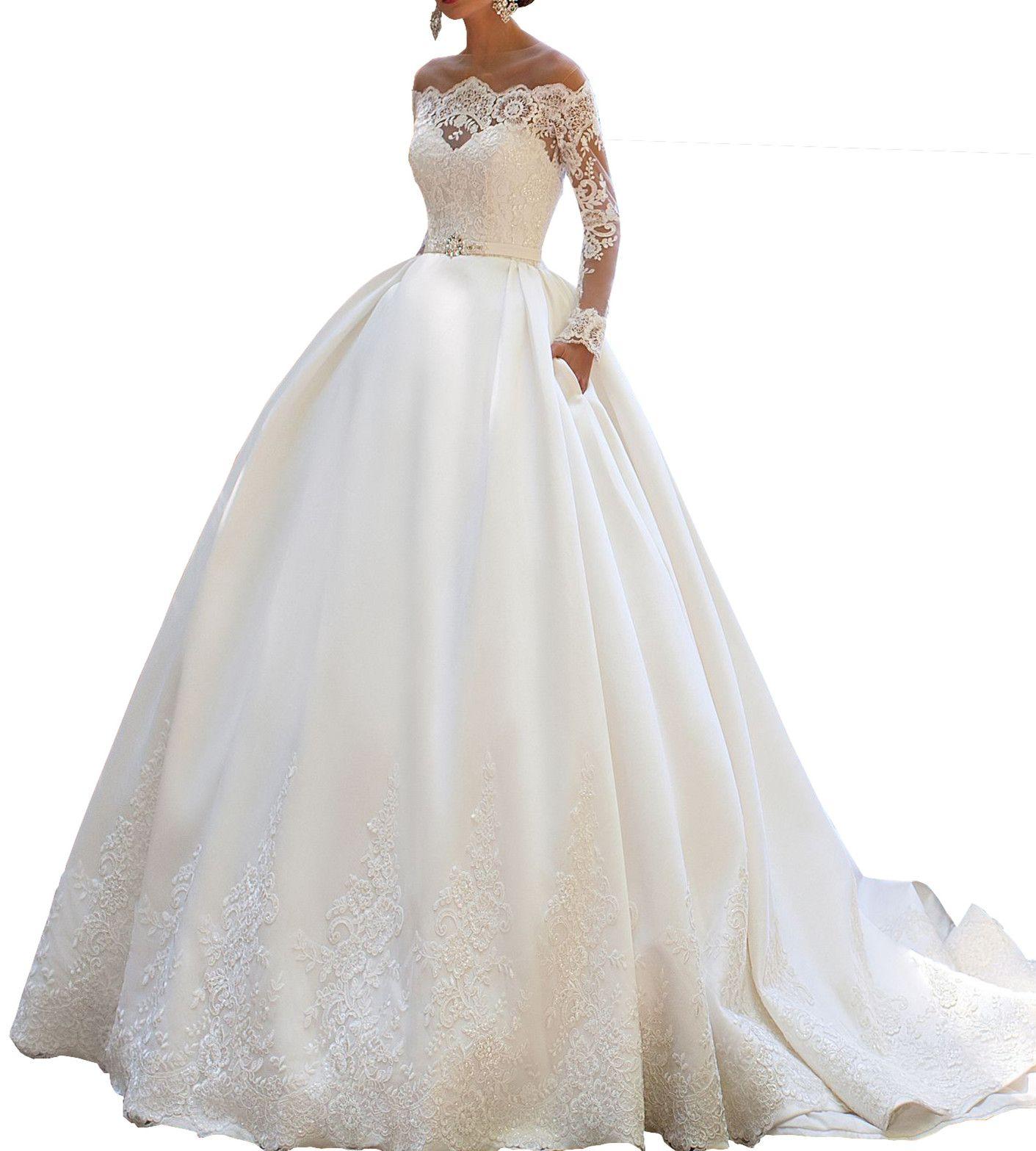 Pin by Weddingdresses on lace applique wedding dress  Princess