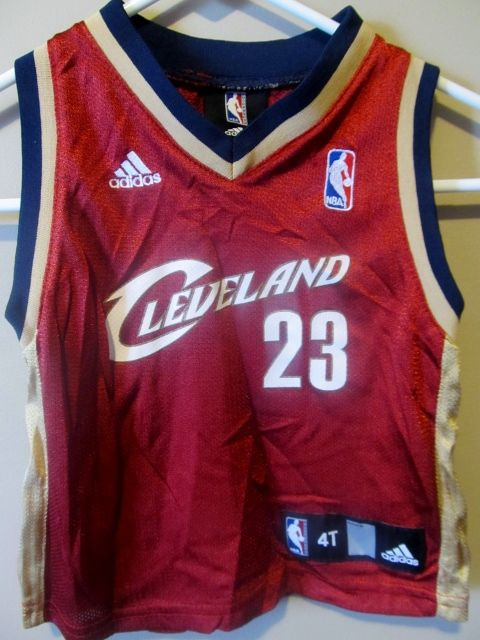 sale retailer fbf64 f40dd Lebron James Cleveland Cavaliers jersey , Toddler 4T ...