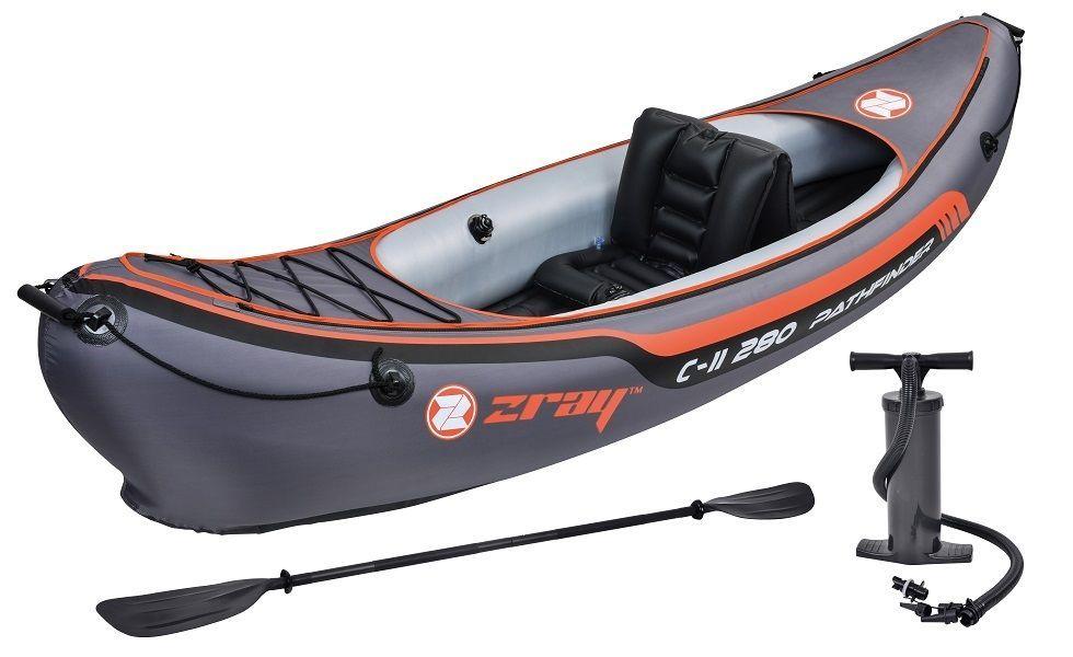 Z-Ray Pathfinder C-II 280 1 Person Inflatable Kayak, 9'2