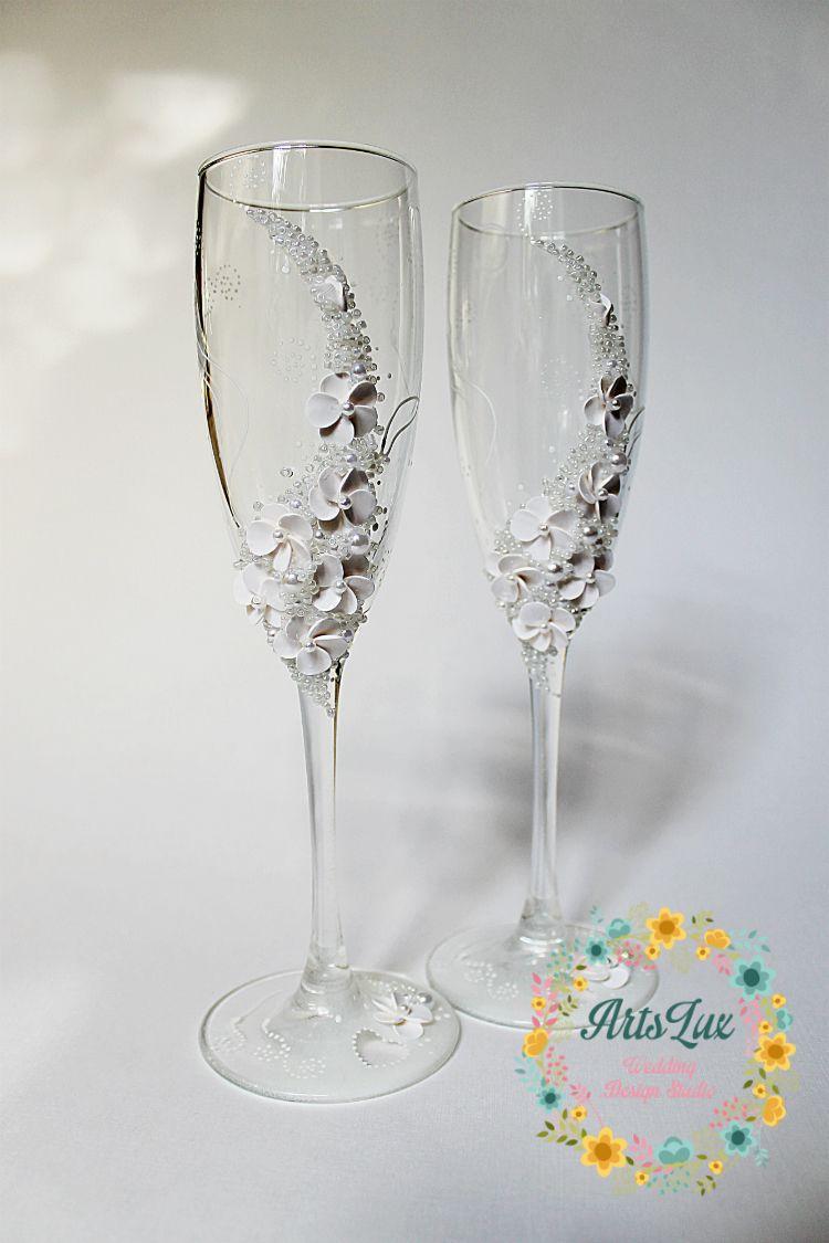 https://www.etsy.com/listing/127104710/wedding-champagne-glasses ...