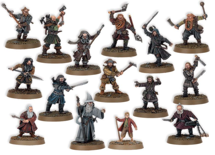 i understand that for the film they've made the dwarves all look different, but they seem too different to me. there are not so many dwarves in Middle Earth that they would show such ethnic diversity as this. also, the really don't match up well with the descriptions given in the book. parts with a different paint job they'd look better.