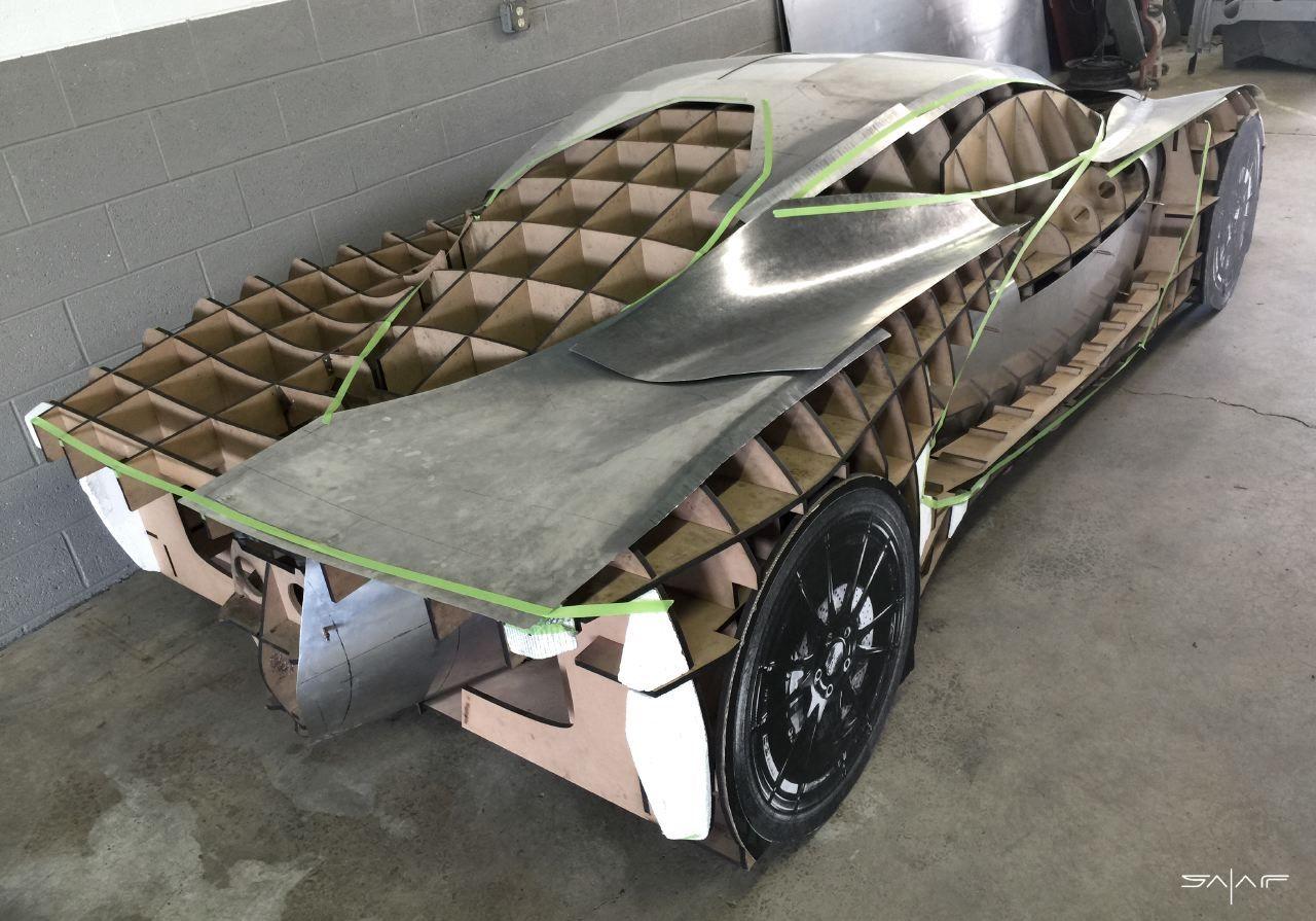 Designer Follows Passions And Dreams To Build His Own Supercar Super Cars Concept Car Design Design