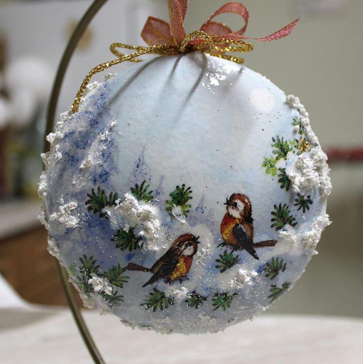 Pin by Jukaka on decoupage christmas   Christmas ornaments ...