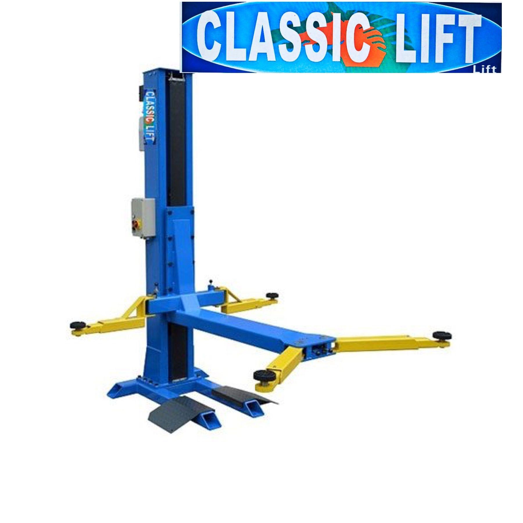 lassic Lift Australia carries both a single post car lift
