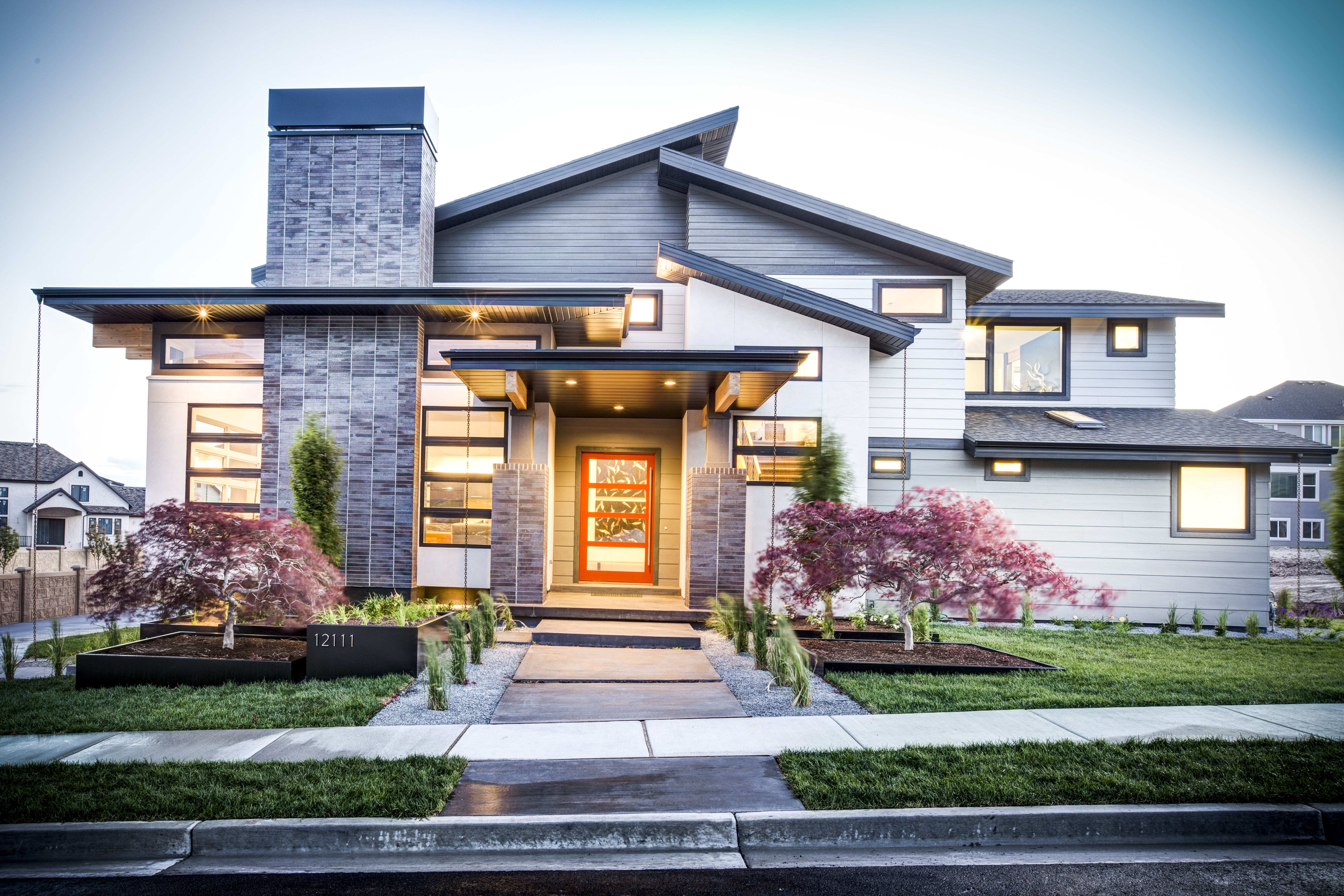 Beautiful SemiModern Home  Traditional Elegant Interior Design  Architecturally Significant