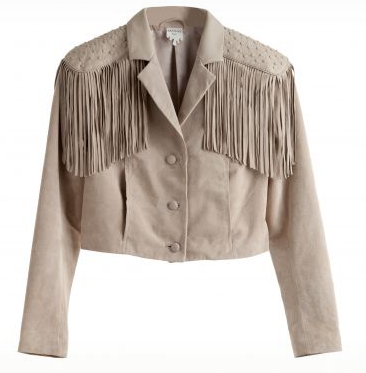 Fringe Jacket, similar to the one in Ferris Bueller