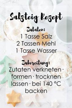 Salzteig selber machen | DIY-Blog