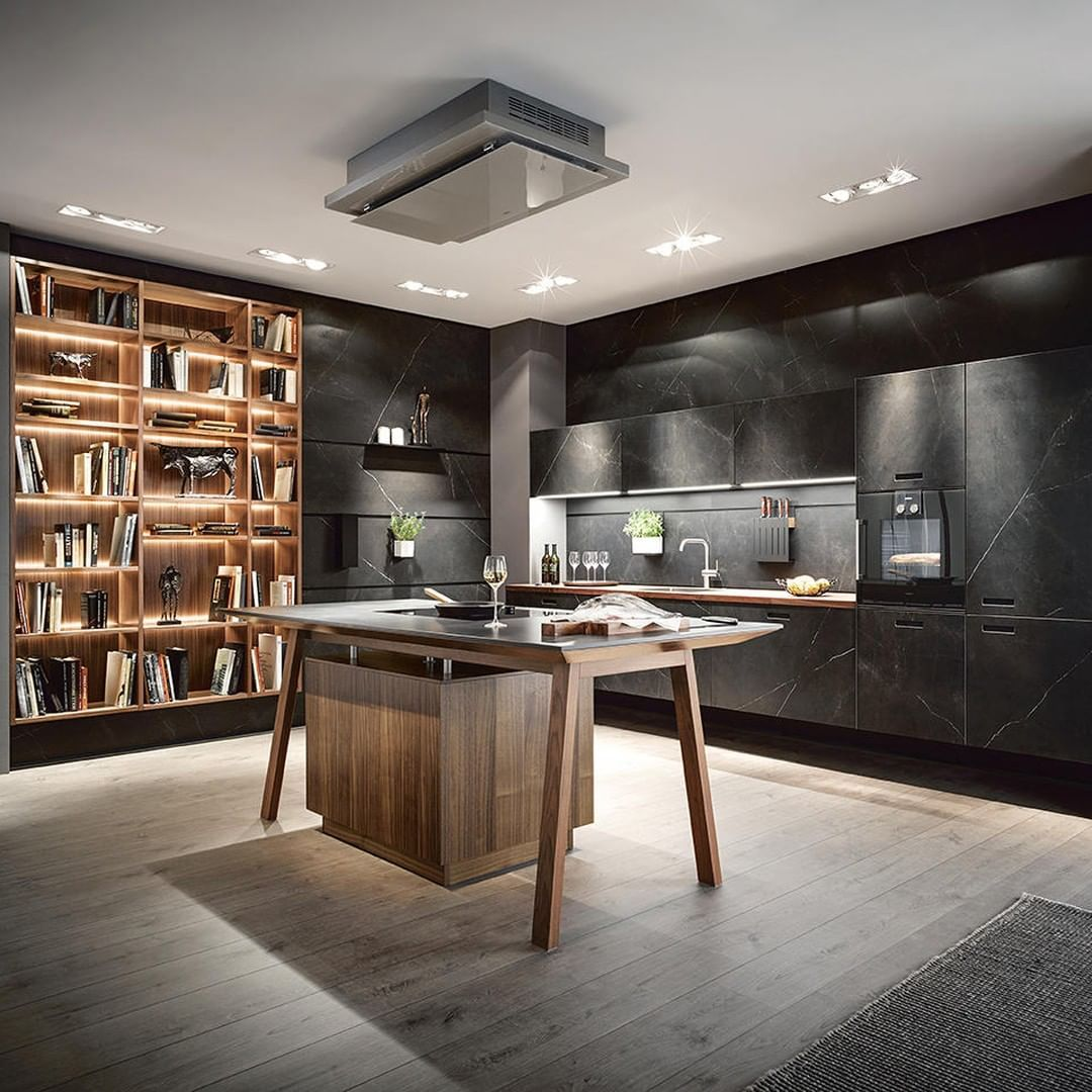 """Architonic on Instagram """"THE LIVING KITCHEN With its"""