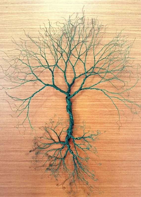 Wire wall Art tree of life wall decoration. by WireArtbyCatherine ...